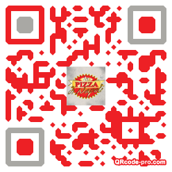 QR code with logo I2R0