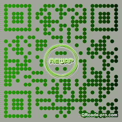 QR code with logo I440
