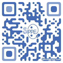 QR code with logo I8N0