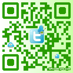 QR code with logo Ibf0