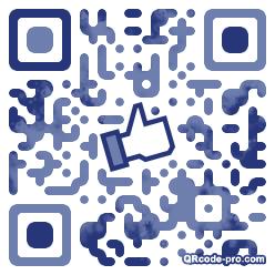 QR code with logo Icj0