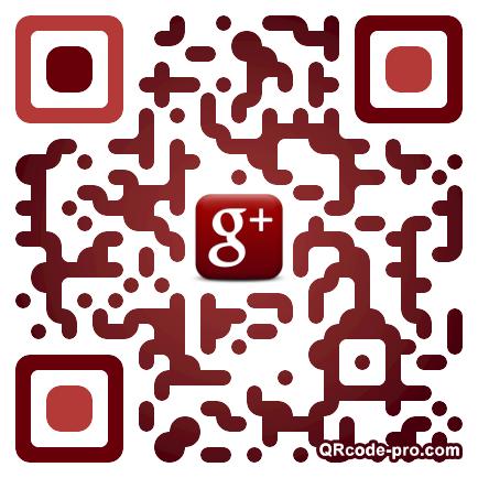 QR code with logo Izr0