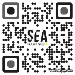 QR code with logo J0R0
