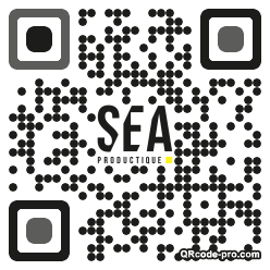 QR code with logo J0k0