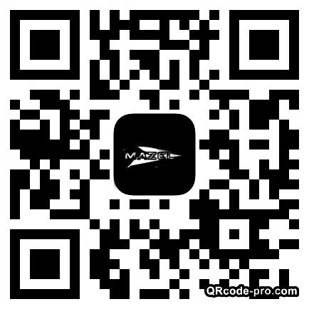 QR code with logo J180