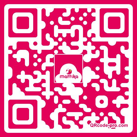QR code with logo J8X0