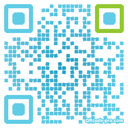 QR code with logo JD30
