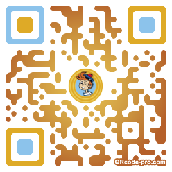 QR code with logo JEh0