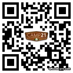 QR code with logo JOY0