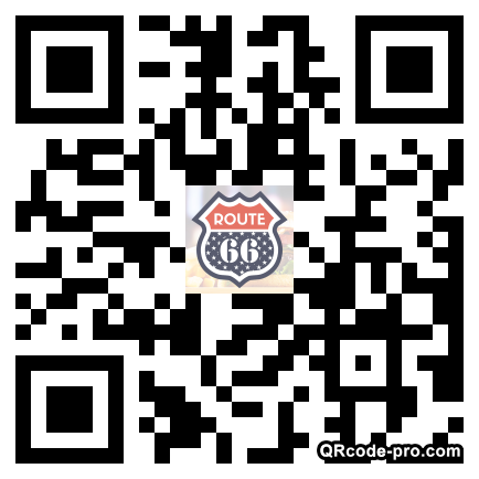 QR code with logo JRX0
