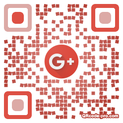 QR code with logo JVB0