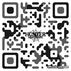 QR code with logo JWr0