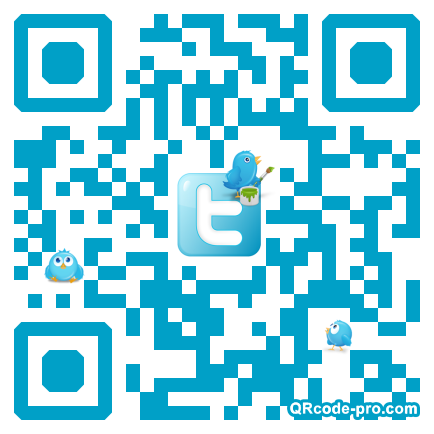 QR code with logo Jr00