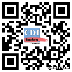QR code with logo Jy30