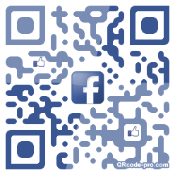 QR code with logo K5P0