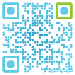QR code with logo K6Q0