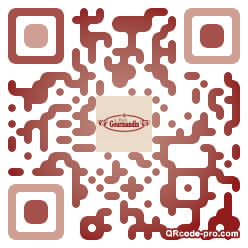 QR code with logo KGe0