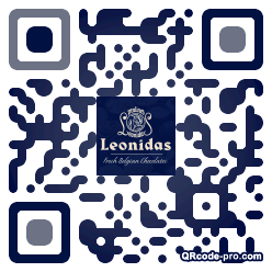 QR code with logo KH30