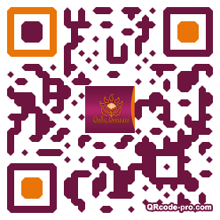 QR code with logo KLd0