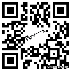 QR code with logo KSf0