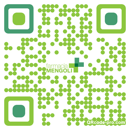 QR code with logo KaG0