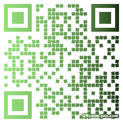 QR code with logo Kb90