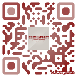 QR code with logo KeQ0