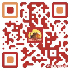 QR code with logo Klz0