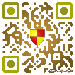 QR code with logo Kns0