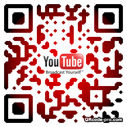 QR code with logo L2Z0