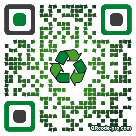 QR code with logo L9b0