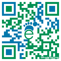 QR code with logo LAt0