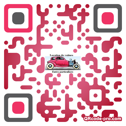 QR code with logo LCH0