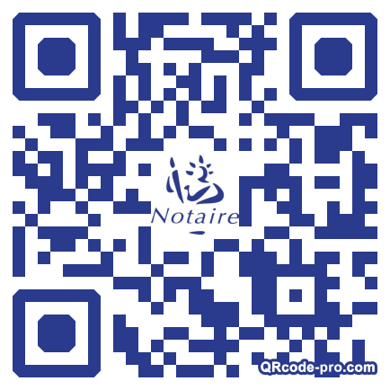 QR code with logo LDR0