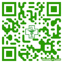 QR code with logo LLS0