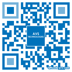 QR code with logo LX60