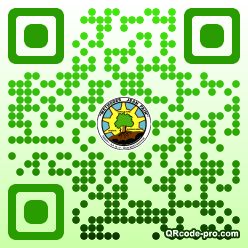 QR code with logo LoL0