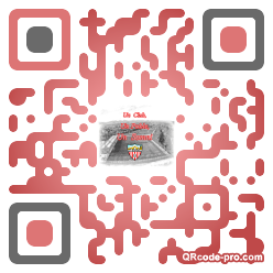 QR code with logo Lp30