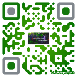 QR code with logo Lvd0