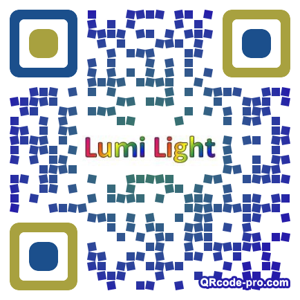 QR code with logo LzR0
