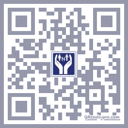 QR code with logo MGR0