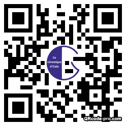 QR code with logo MUS0