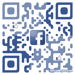 QR code with logo Mg80