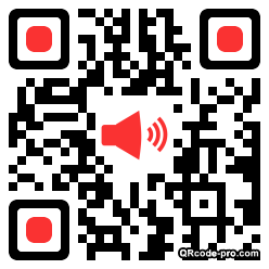 QR code with logo MnG0