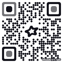 QR code with logo Mnt0