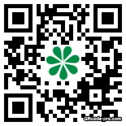 QR code with logo MsE0