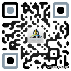 QR code with logo My70