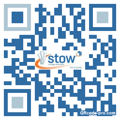 QR code with logo N1C0
