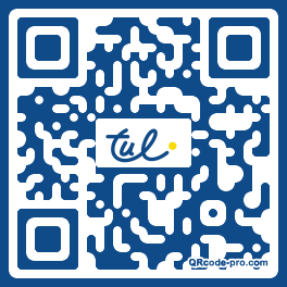 QR code with logo NGf0