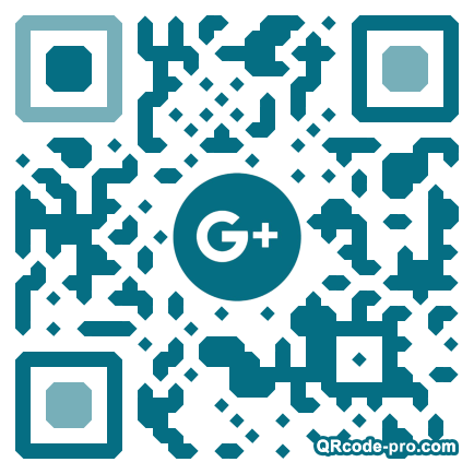 QR code with logo NHS0